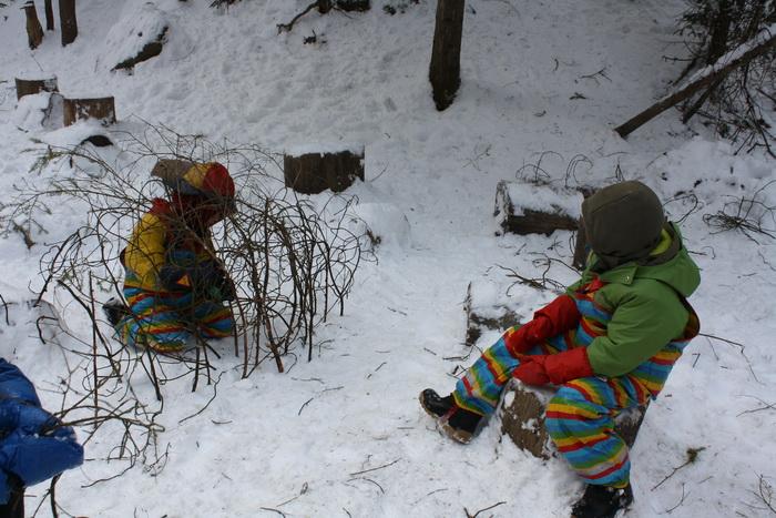 Winter Im Waldkindergarten Waldkindergarten Bad Griesbach Haarbach
